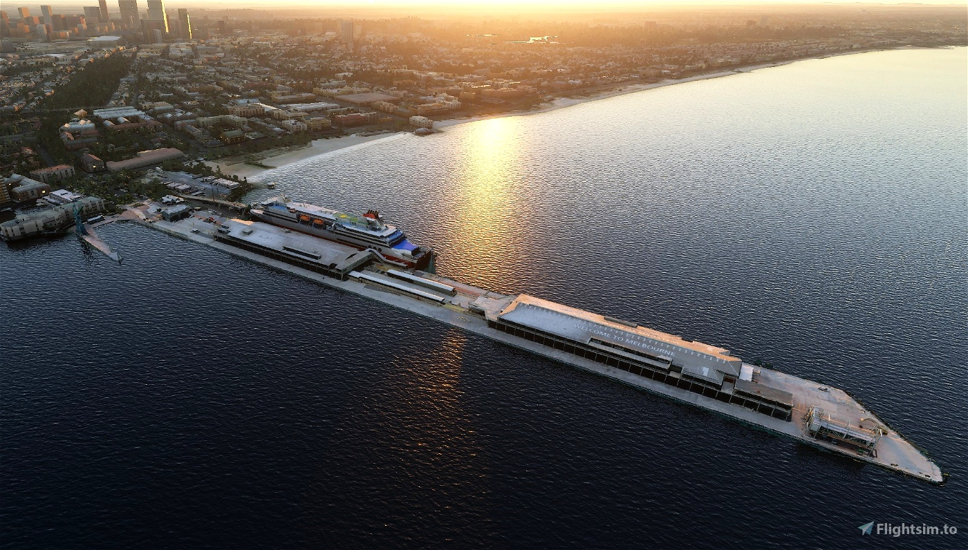 Station Pier - Melbourne Flight Simulator 2020