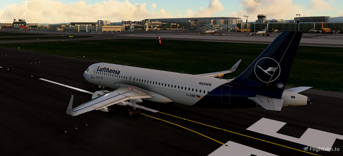New Lufthansa Livery - A320
