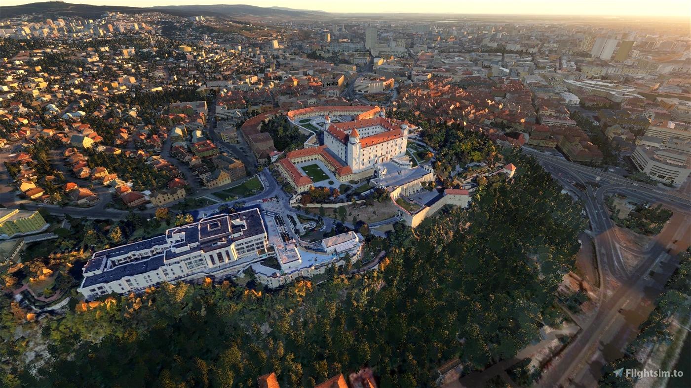 Bratislava City Pack Flight Simulator 2020