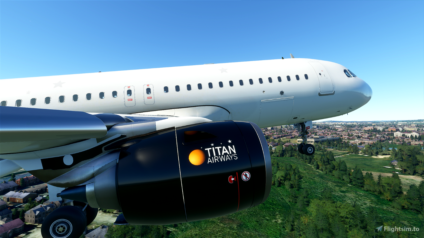 TITAN AIRWAYS LIVERY
