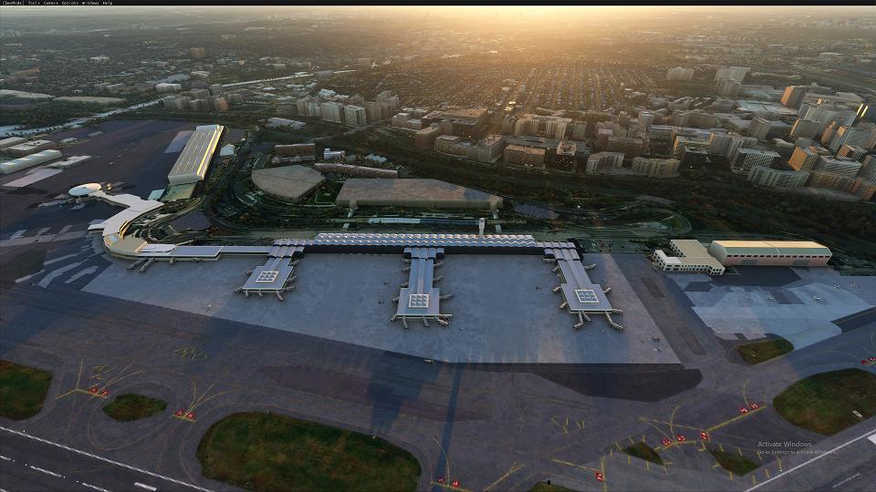KDCA Ronald Reagan Washington National Airport