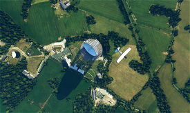 The Lovell Telescope (Jodrell Bank, Cheshire, UK) Image Flight Simulator 2020