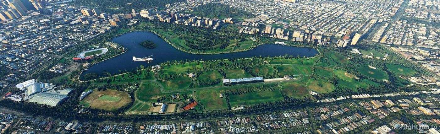 Albert Park Lake Upgrade Flight Simulator 2020