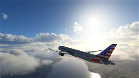 American Airline | NEW METHOD Image Flight Simulator 2020