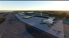 KDCA Ronald Reagan Washington National Airport Image Flight Simulator 2020