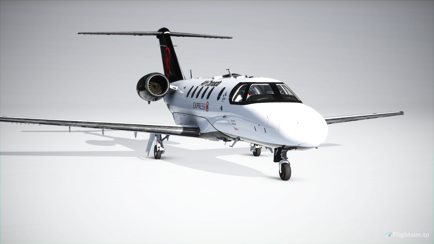 Citation CJ4 Air Canada (with custom Interior) UPDATED Flight Simulator 2020