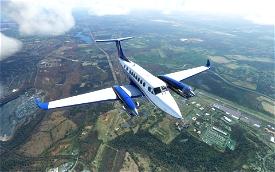 King Air 350i Metals and Alternate Color Liveries (8 total) Image Flight Simulator 2020