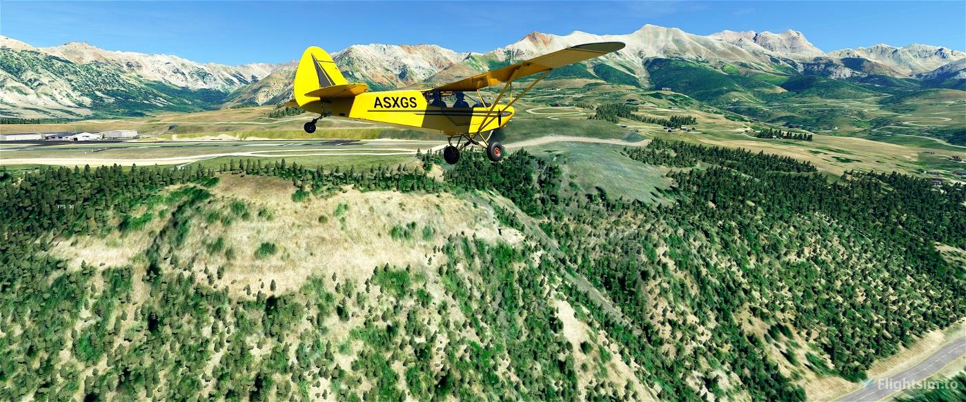 Tree Height Modification VERSION 2.0 for MFS2020 (shorter, realistic trees)  Flight Simulator 2020