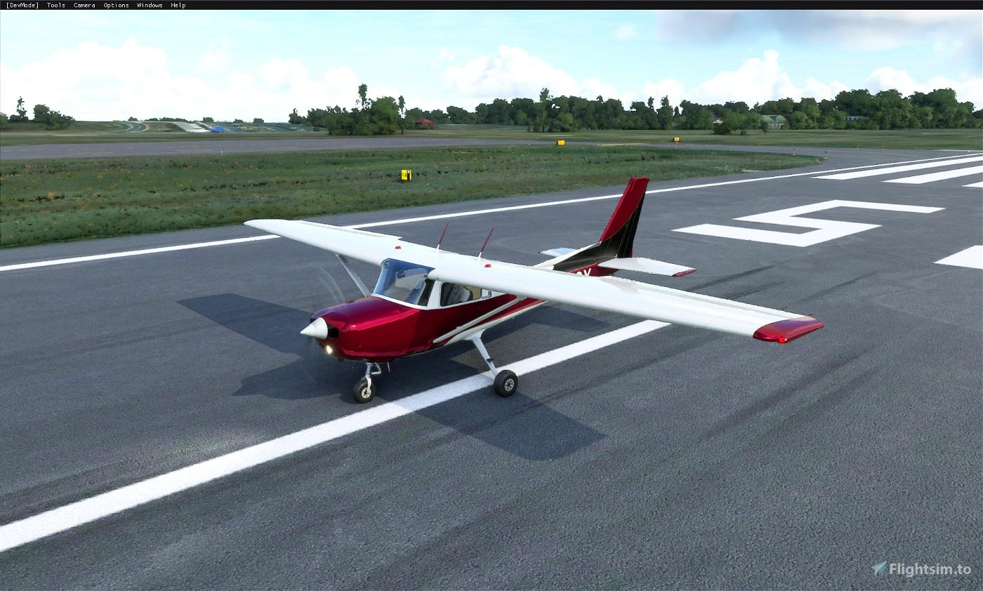 Cessna 152 (standard) - Metallic paints (5 colors) Flight Simulator 2020