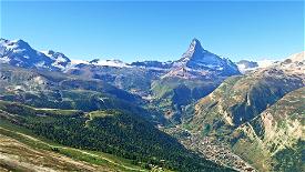 Matterhorn Mountain  Image Flight Simulator 2020