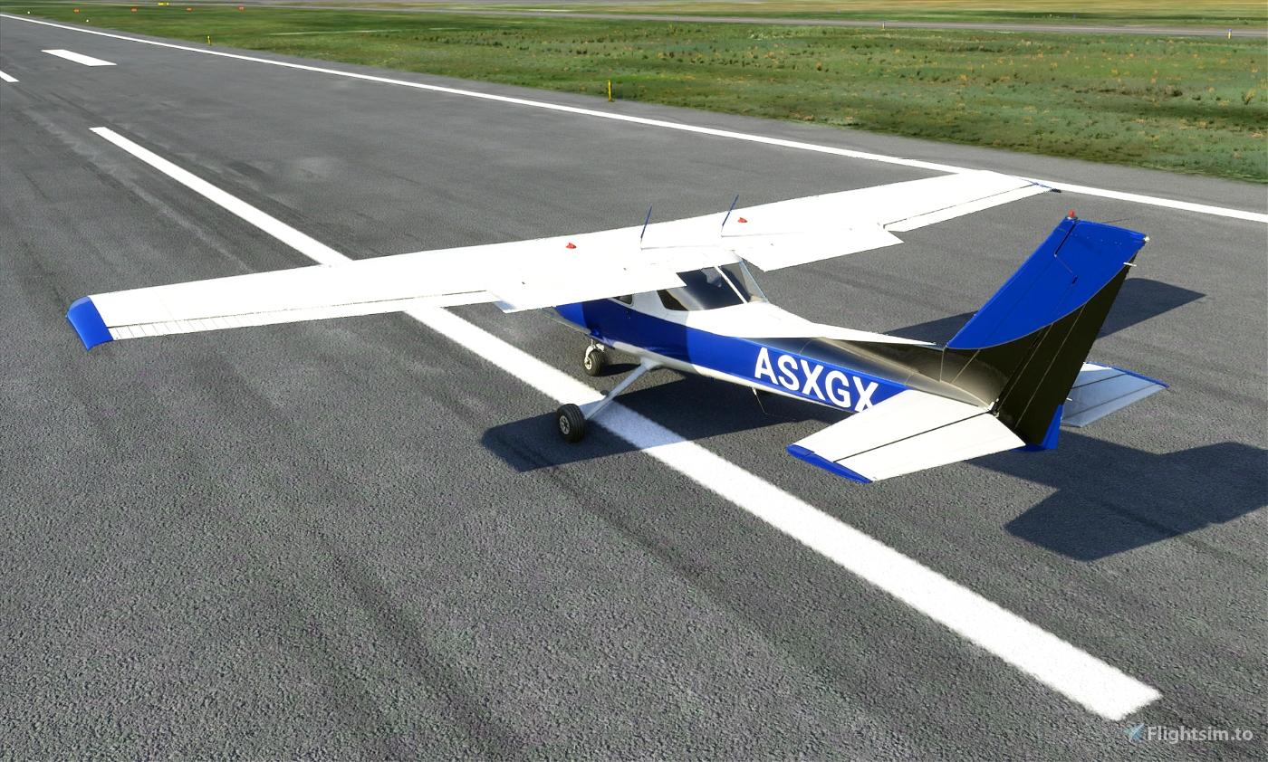 Cessna 152 (standard) - Metallic paints (5 colors)