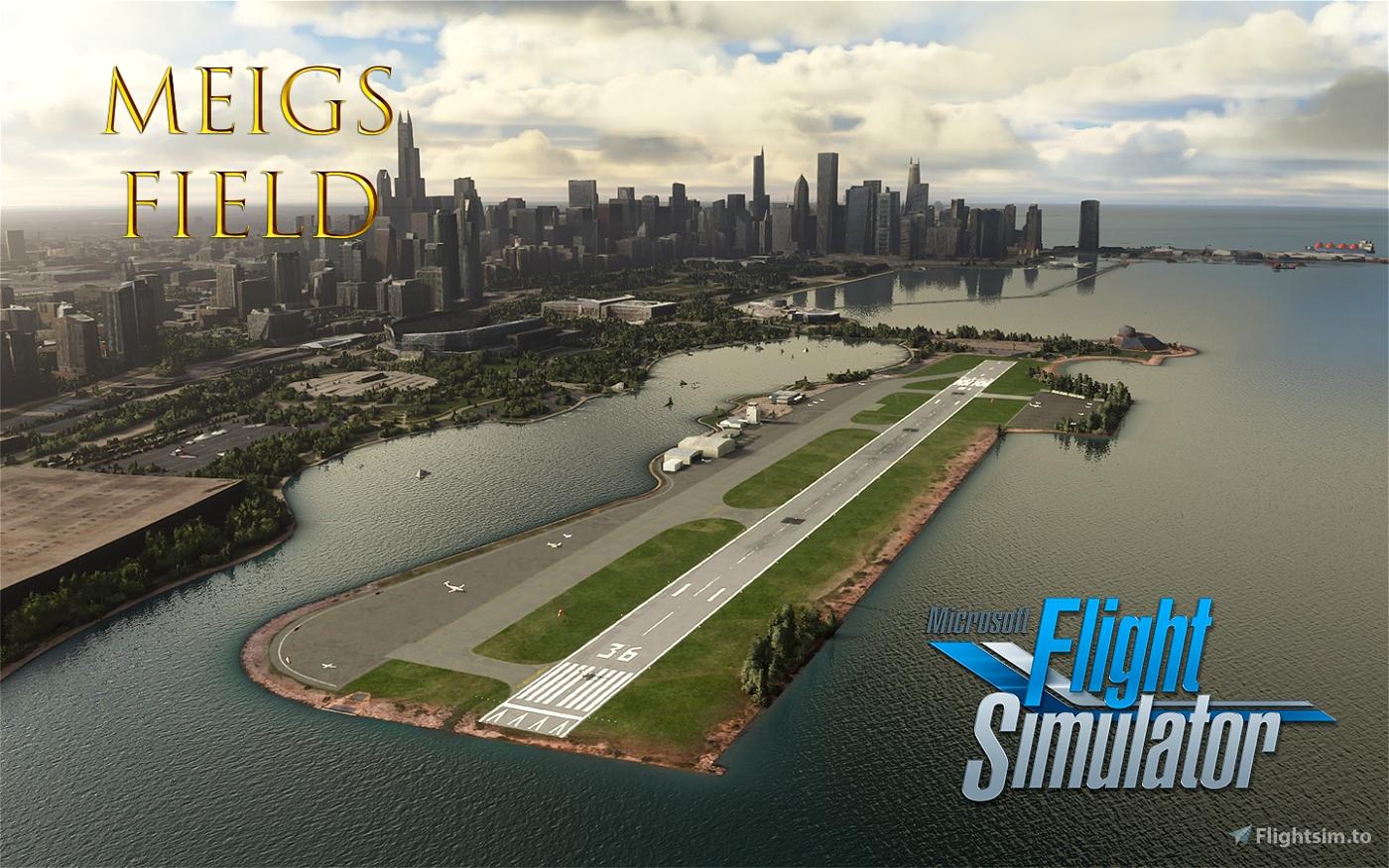 Merril C. Meigs Field (KCGX) Flight Simulator 2020