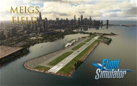 Merril C. Meigs Field (KCGX) Image Flight Simulator 2020