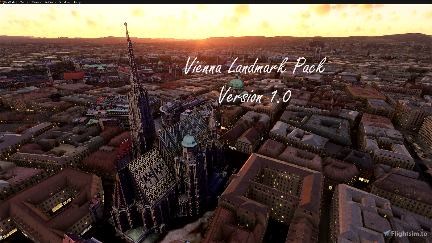 Vienna Landmark Pack - v1.9 Flight Simulator 2020