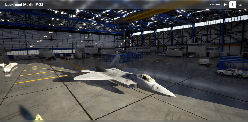 F-22 Raptor Flight Simulator 2020