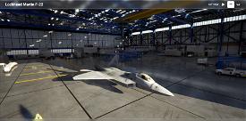 F-22 Raptor Image Flight Simulator 2020