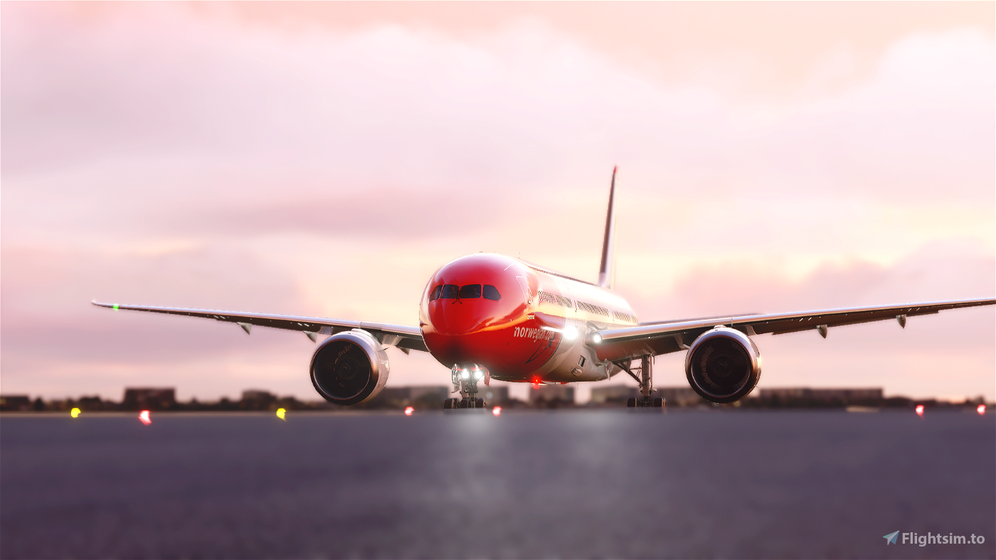 Norwegian 787 - Highly accurate (Patch 1.10.7.0 fixed) Flight Simulator 2020