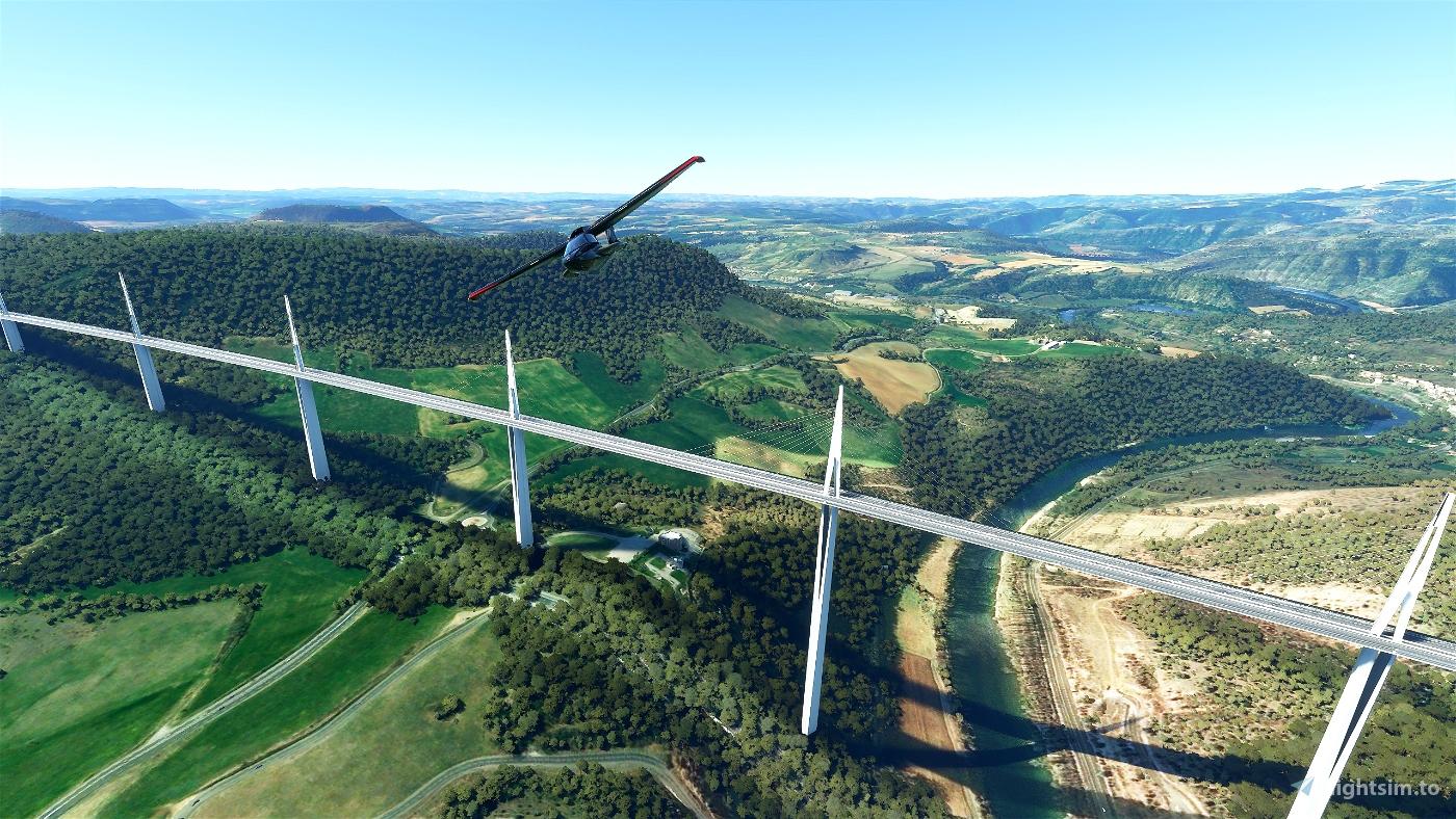 Millau Viaduct Flight Simulator 2020