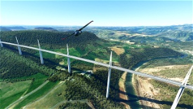 Millau Viaduct Image Flight Simulator 2020