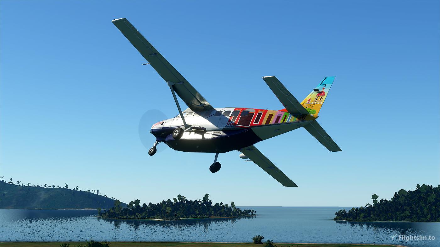 Nature Air Cessna 208b Grand Caravan EX Livery Pack