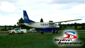 Skydive Spaceland Cessna 208b Grand Caravan EX Livery Image Flight Simulator 2020