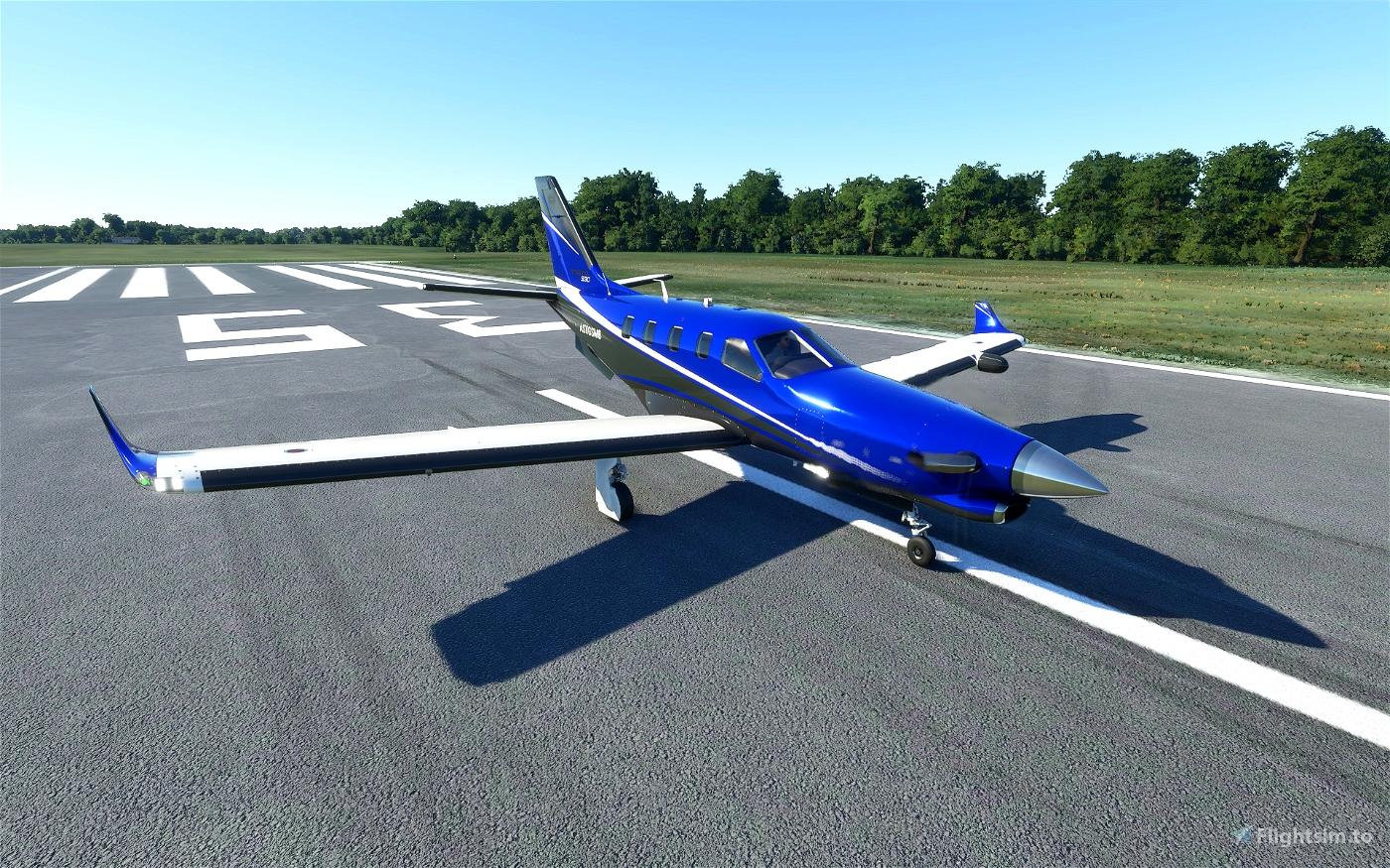 Daher TBM 930 Metallic Paint (6 colors) Flight Simulator 2020