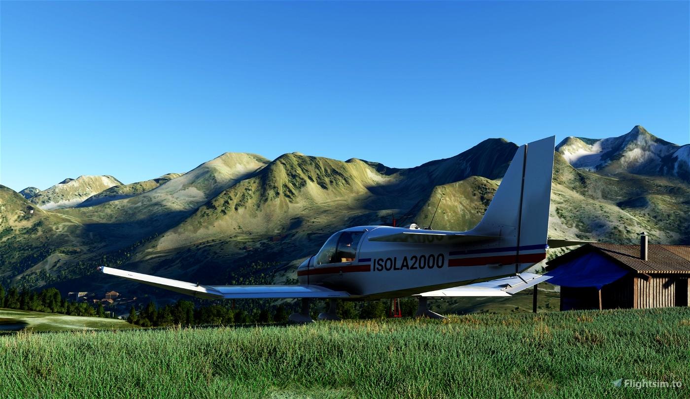 Altisurface  LF0621 Isola2000 Flight Simulator 2020
