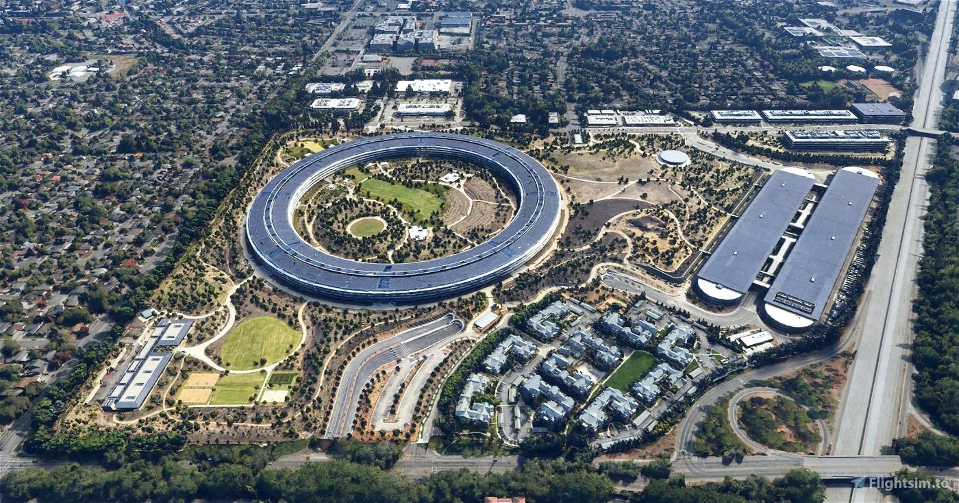 Apple Park - Apple Inc HQ Flight Simulator 2020