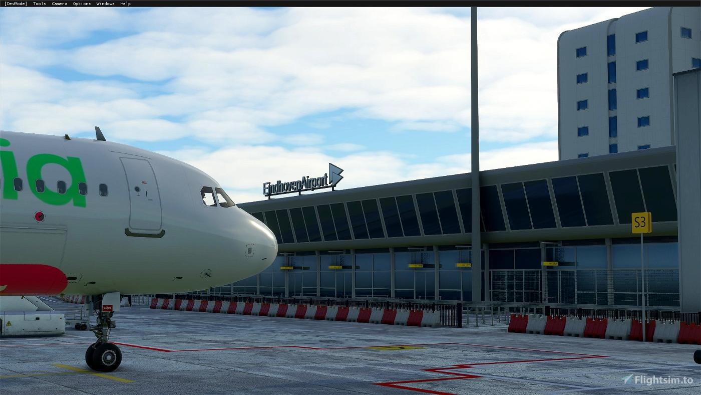 Eindhoven Airport / EHEH - incl Custom Buildings Flight Simulator 2020