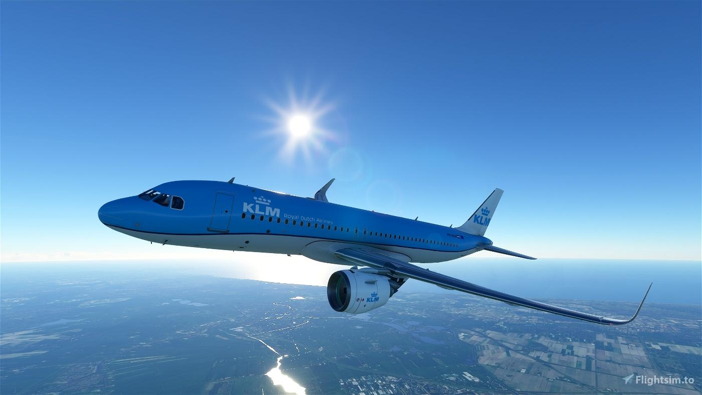KLM A320 Flight Simulator 2020
