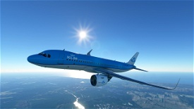 KLM A320 Image Flight Simulator 2020