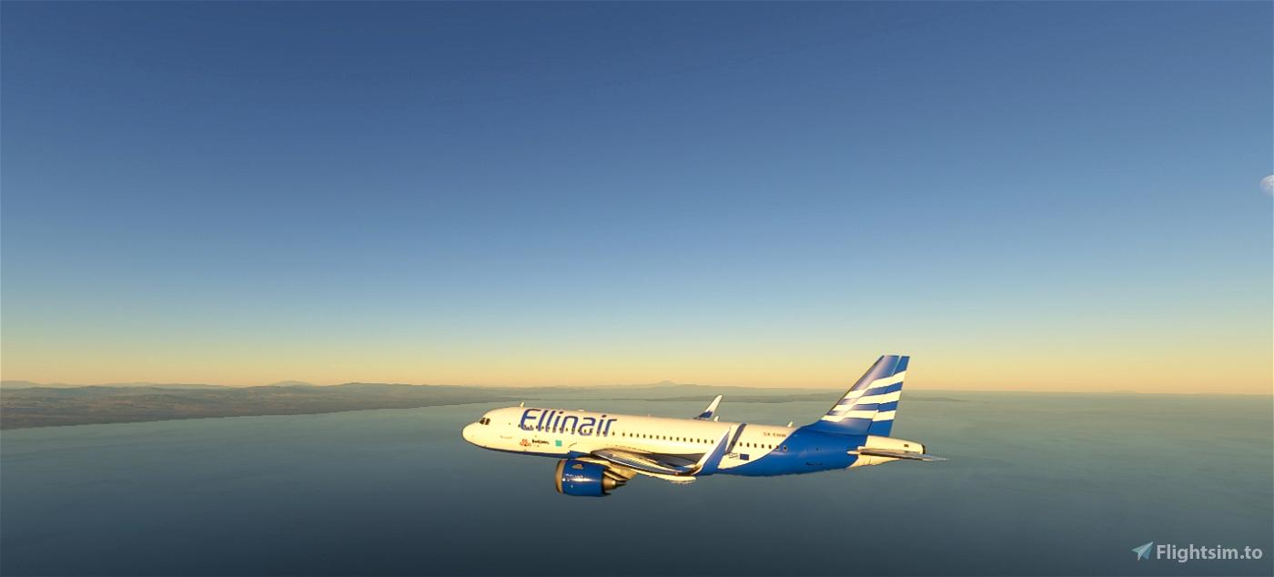 Ellinair Airline 4k Flight Simulator 2020