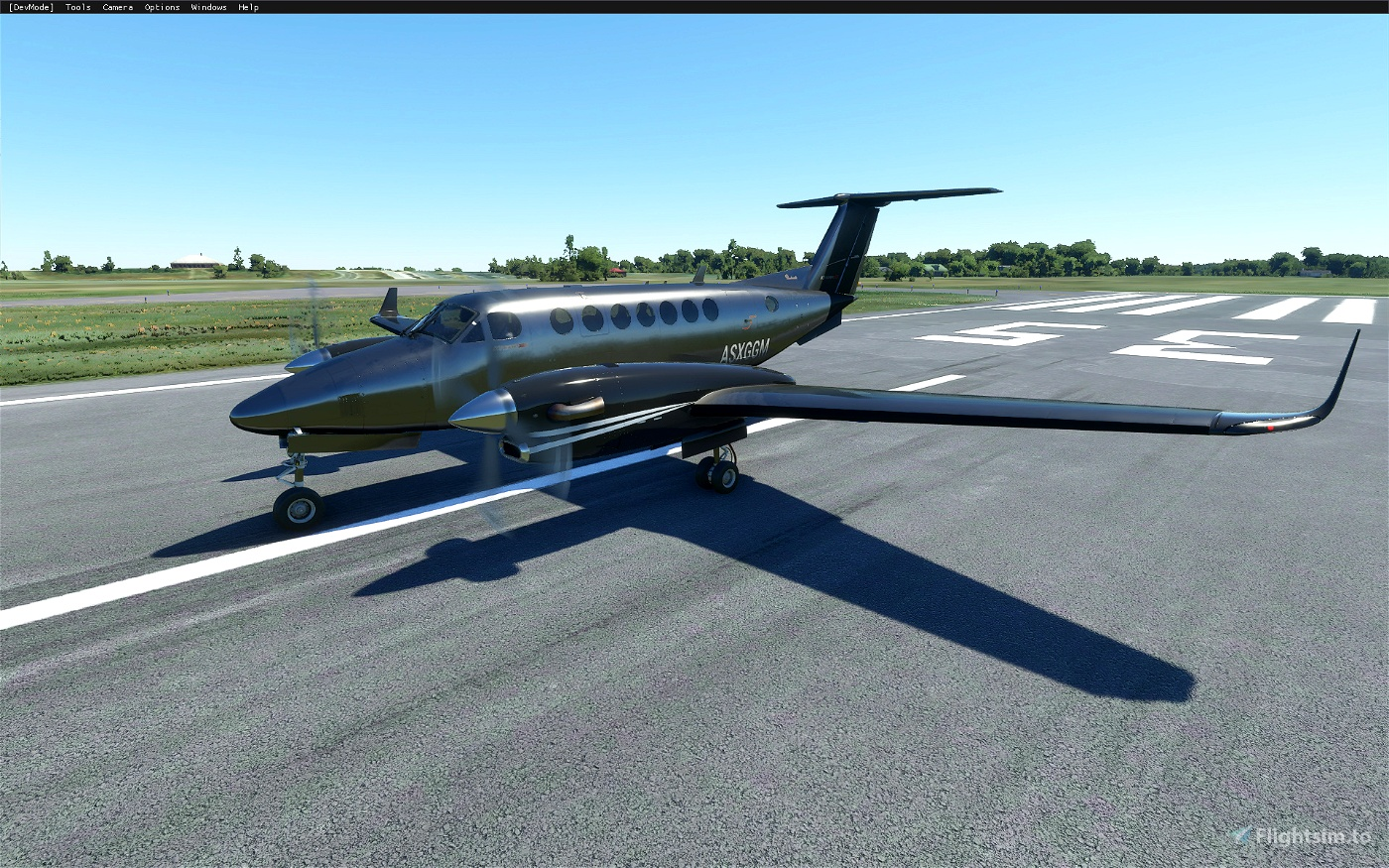 King Air 350i Metals and Alternate Color Liveries (8 total)