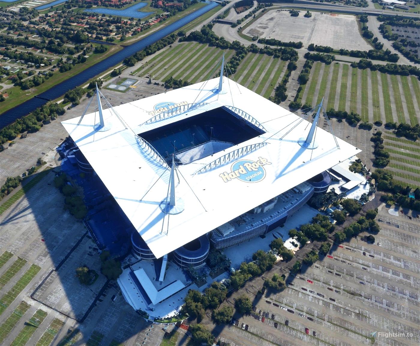 Hard Rock Stadium - Florida Flight Simulator 2020