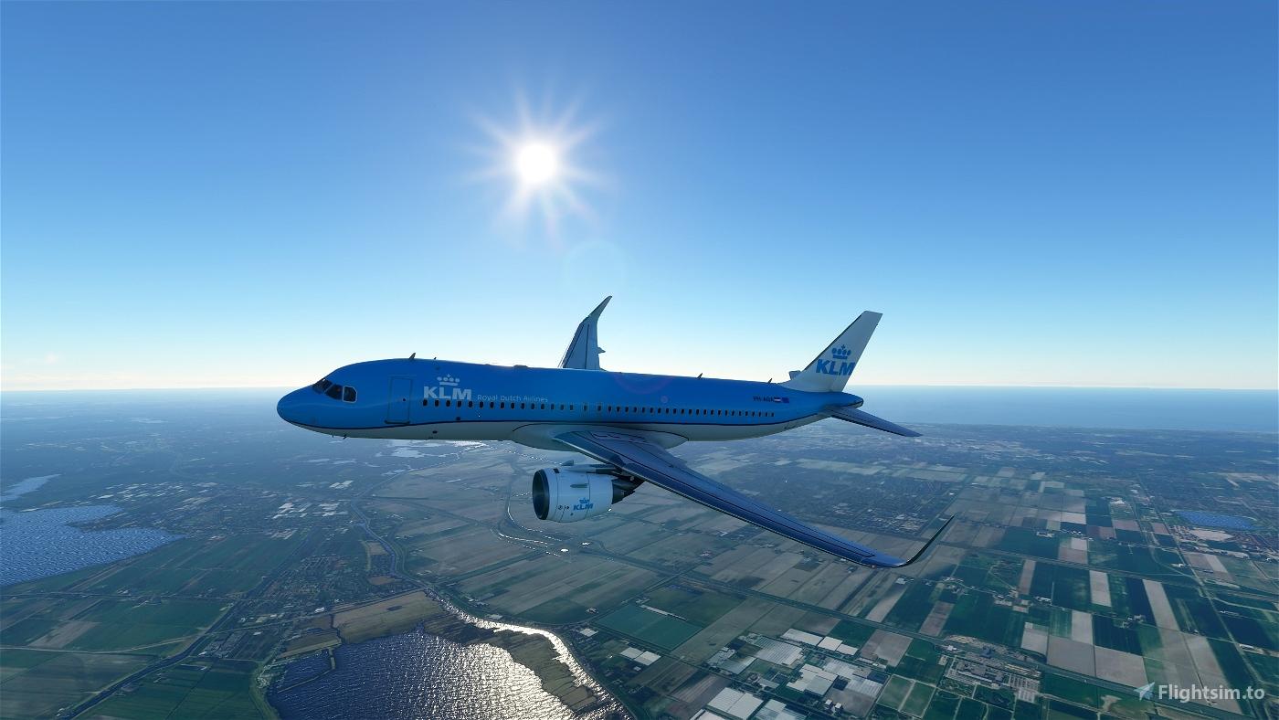KLM A320