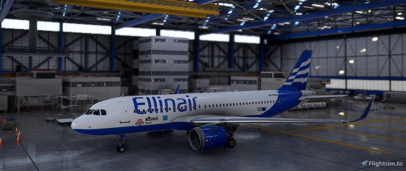 Ellinair Airline 4k