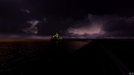 Mont St Michel - Lights on Image Flight Simulator 2020