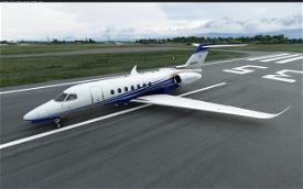 Cessna Longitude alternate color stripes (8 colors) Image Flight Simulator 2020