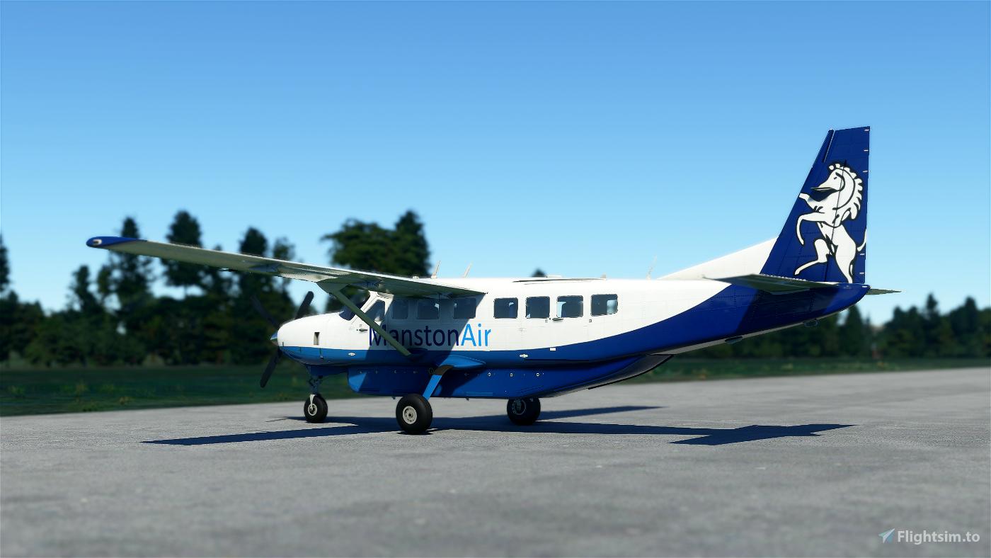 Manston Air Cessna 208b Grand Caravan EX Livery