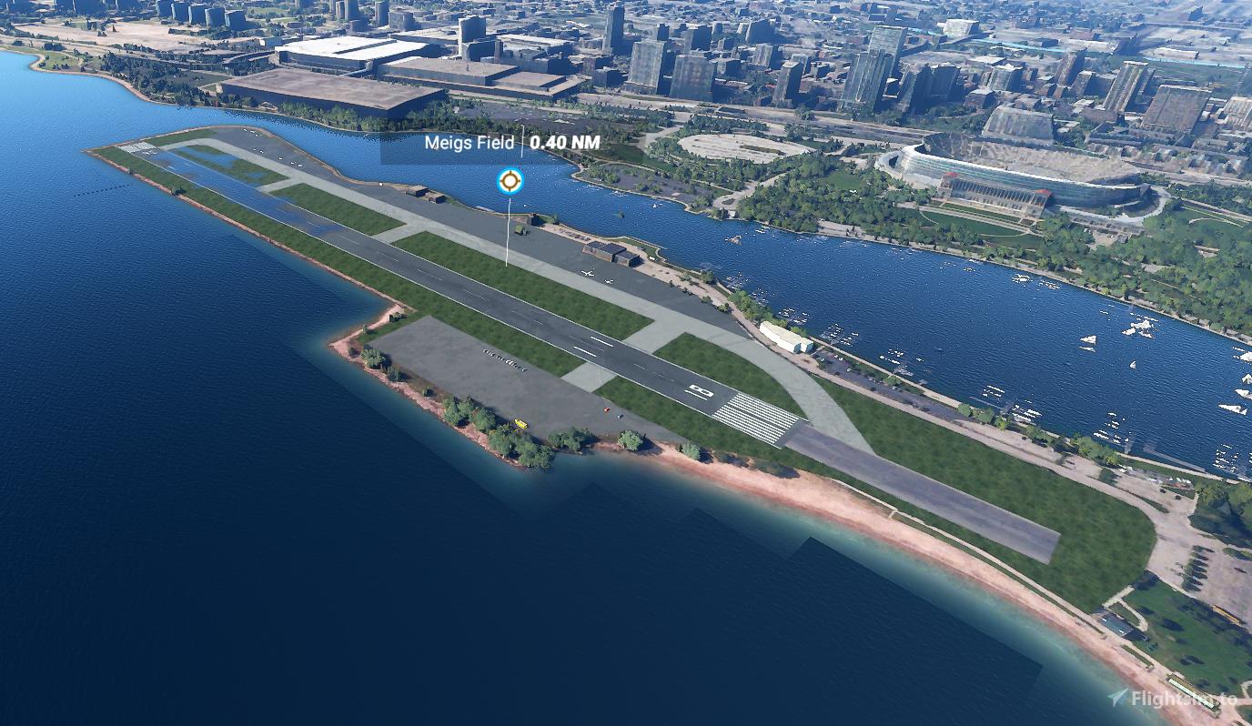 KCGX - Meigs Field Flight Simulator 2020