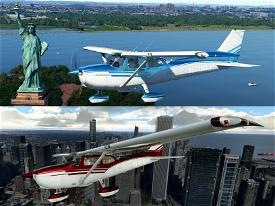 Custom C172 Metallic Paint Jobs Image Flight Simulator 2020