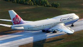 B747 China Airlines Livery Image Flight Simulator 2020