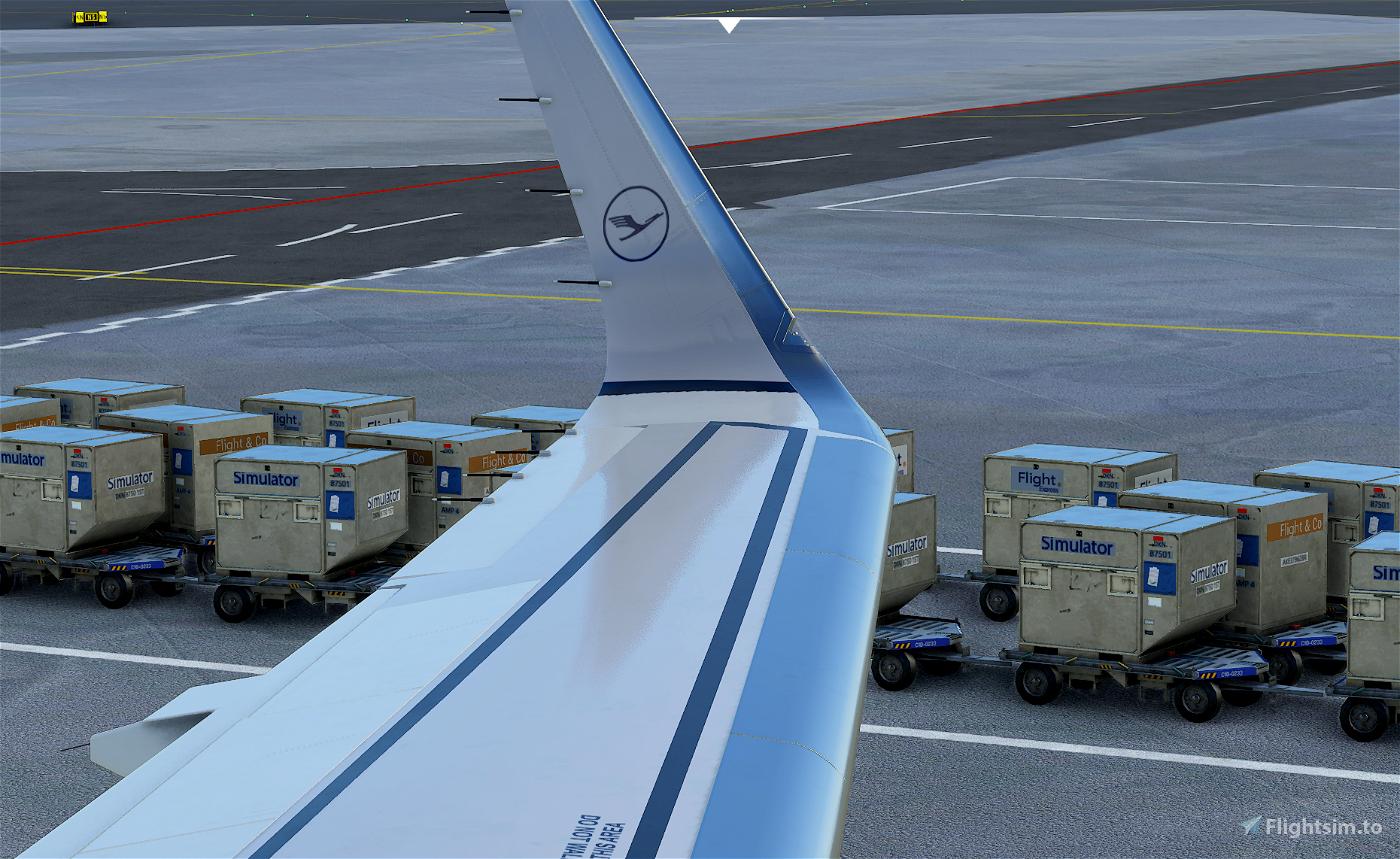 New Lufthansa Livery - A320 Flight Simulator 2020