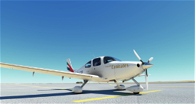 Cirrus SR22 Emirates Academy  Image Flight Simulator 2020
