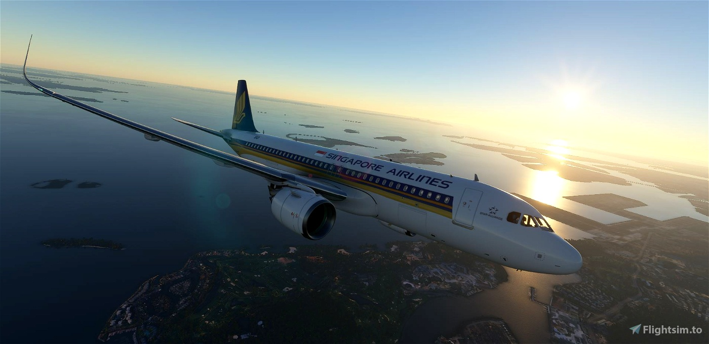 A320 Singapore Airlines