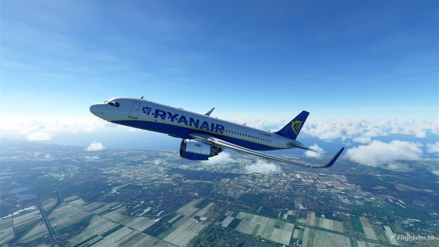 Ryanair A320 Flight Simulator 2020