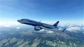 Ryanair A320 Image Flight Simulator 2020