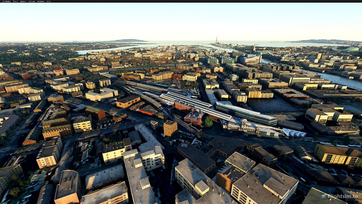 Dublin city enhancement & Landmarks Flight Simulator 2020