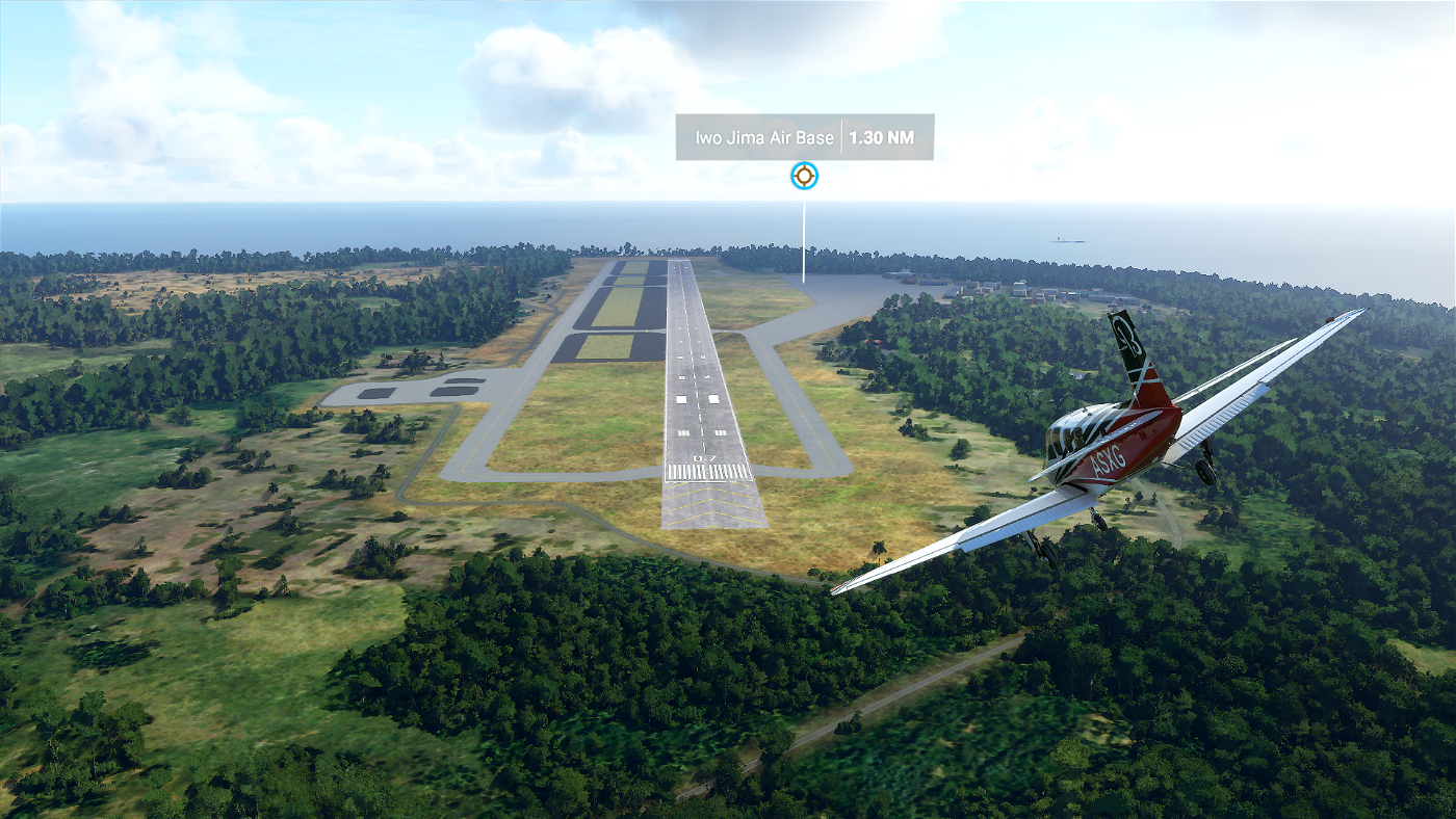 Iwo Jima Air Base - Iwoto Airport  [RJAW] Flight Simulator 2020