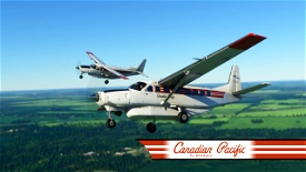 Canadian Pacific Cessna 208b Grand Caravan EX Livery Image Flight Simulator 2020
